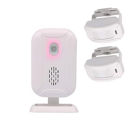 Mengshen Inalámbrico sensor de movimiento infrarrojo alarma timbre alarma de ladrón para la tienda de origen