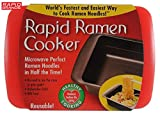 Rapid Ramen Cooker Red - Microwave Instant Ramen Noodles in 3 Minutes