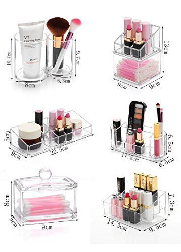 Generic Differents Style Make Up Organizer Storage Case Make up Cotton&Pad Box by Generic (Image #2)