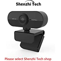 ShenzhiTech HD Webcam 1080p Web Camera USB PC Computer Webcam with Microphone Auto Focus Full HD Camera Video Webcam for PC Laptop Desktop