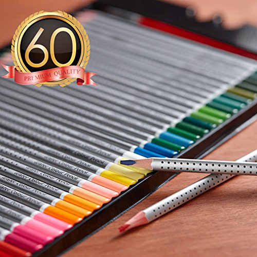 Watercolor Pencils Sketch Coloring Included product image