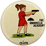 The Umbrella Academy Badges, Multicoloured, 25mm Dia