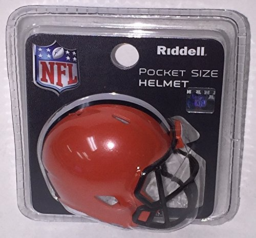 (Cleveland Browns Riddell Speed Pocket Pro Football Helmet - New in package)