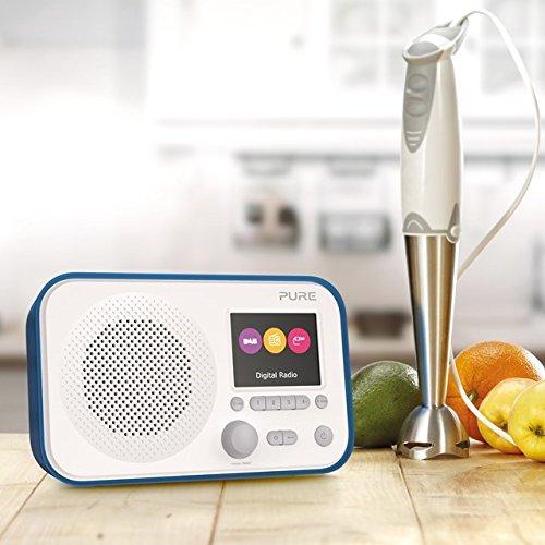Nero Elan IR5 Pure Internet radio portatile con Bluetooth e Spotify Connect