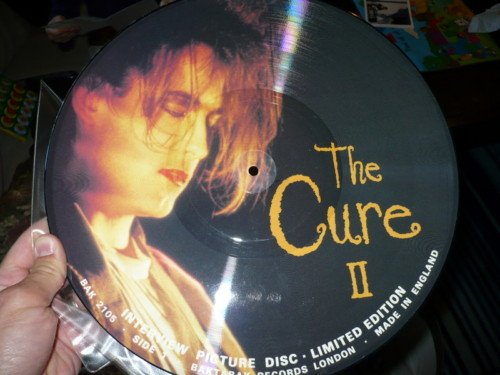 Cure 2 Interview Picture Lp Disc by Baktabak