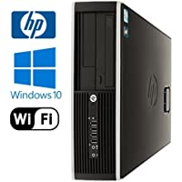 HP Compaq 8100 Elite SFF - Intel Quad Core i5 3.2GHz, 8GB DDR3, New 120GB SSD, Windows 10 Professional 64-Bit, WiFi, DVD-ROM (Prepared by ReCircuit)