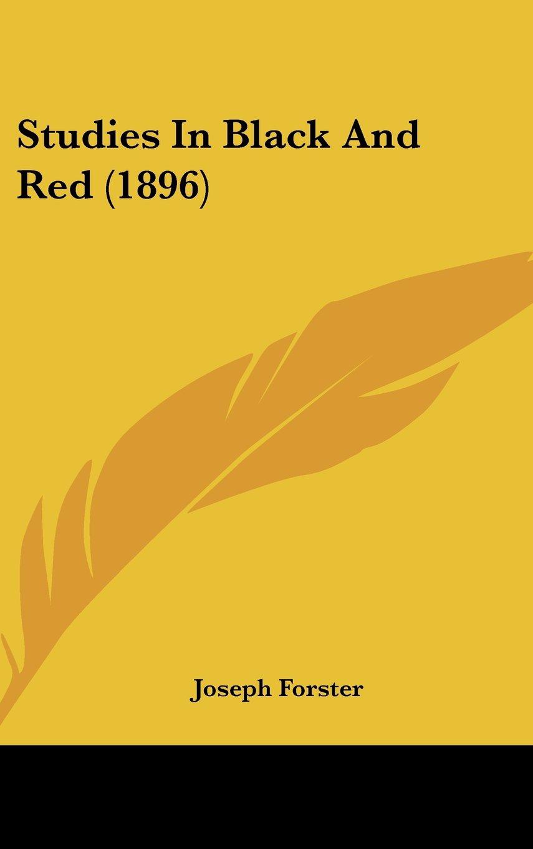 Studies In Black And Red (1896) pdf epub