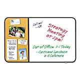 Post-it 558BBDE Cork/Dry-Erase Board,Mounts w/Command Fasteners,36''x22''