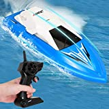 GotechoD Remote Control Boat for Kids Adults RC Boats for Pools and Lakes