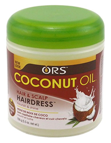 Ors Coconut Oil Conditioning Creme 5.5 Ounce Jar (162ml) (2 Pack) Scalp Conditioning Creme
