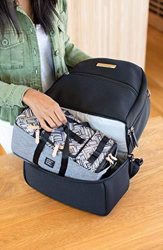Petunia Pickle Bottom Axis Backpack, Black Neoprene, One Size