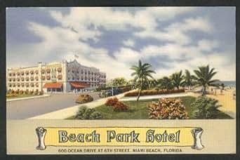 Amazon.com: Beach Park Hotel 600 Ocean Drive 6th St Miami