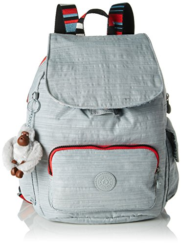 Kipling CITY PACK S Dazz Grey - Str S