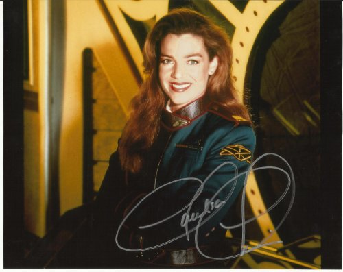 Claudia Christian Babylon 5 hand-signed 8 x 10 photo C of A #3 Nice Smile
