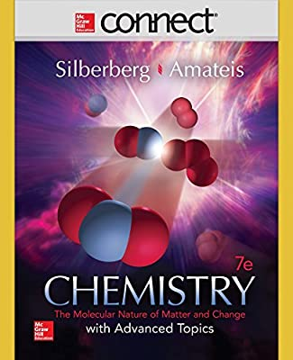 Connect 2 Semester Access Card for Chemistry: The Molecular Nature of Matter and Change With Advanced Topics