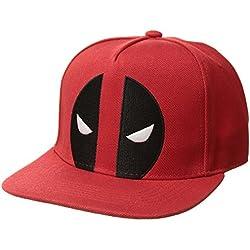 Marvel Gorra de béisbol para Hombre de Capitán América con Escudo Bordado 3D 451547e2066
