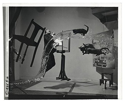 Infinite Photographs Photo: Salvador Dali,1904-1989,Surreal Motion,Cats,Water,Surrealism,c1948