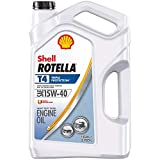 Automotive : Shell Rotella T4 Triple Protection Conventional 15W-40 Diesel Engine Oil (1-Gallon, Single Pack)