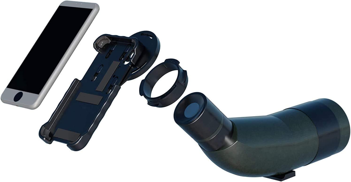 Kit completo de digiscoping para iPhone o Samsung, compatible con ...