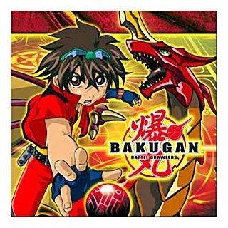 Bakugan Birthday Party Supplies - Beverage Napkin
