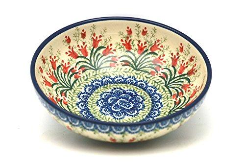 Polish Pottery Bowl – Pasta – Crimson Bells