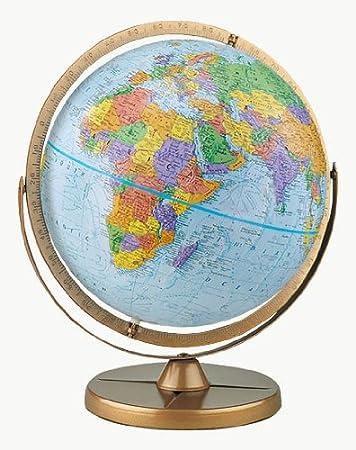 3.25-Inch Diameter Replogle Globes 6//1 Waldseem/üller Globe Ornament