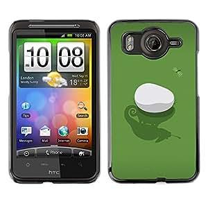 Caucho caso de Shell duro de la cubierta de accesorios de protección BY RAYDREAMMM - HTC G10 - Iguana & Fly