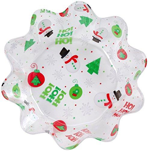 Creative Converting Christmas Plastic Serving