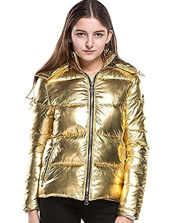 Amazon.com: Women's Winter Puffer Down Jackets Long Sleeve