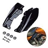 Amazicha Black Mid Frame Air Heat Deflectors Trim