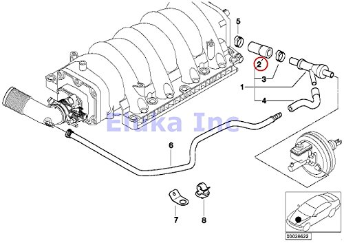 bmw genuine vacuum hose