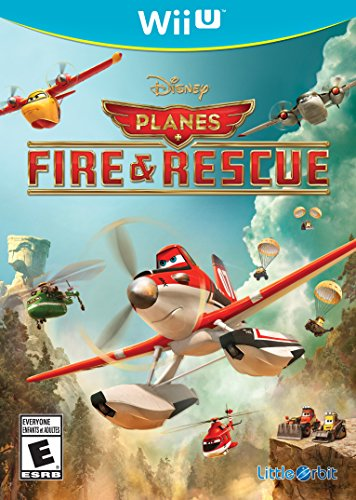 Disney Planes Fire and Rescue - Wii U (Half Plane)