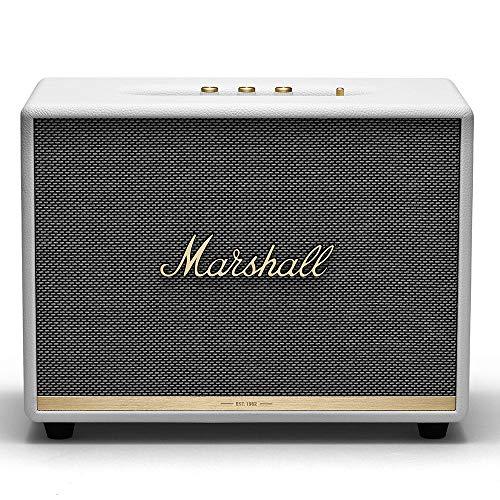 Marshall Woburn II Wireless Bluetooth Speaker, White - New