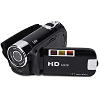 Videocamera Camcorder, Full HD 1080P High Definition Video DV Camera met 270 ° Rotatie + 16X Digitale Zoom Camcorder…