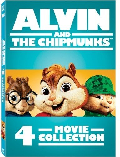 Alvin and the Chipmunks 4-Movie Collection from 20th Century Fox