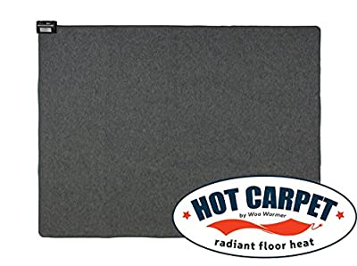 Hot Carpet Woo Warmer Under Rug Instant Radiant Floor Heater Electric Mat Electric Carpet Electric Heated Area Rug Space Heater