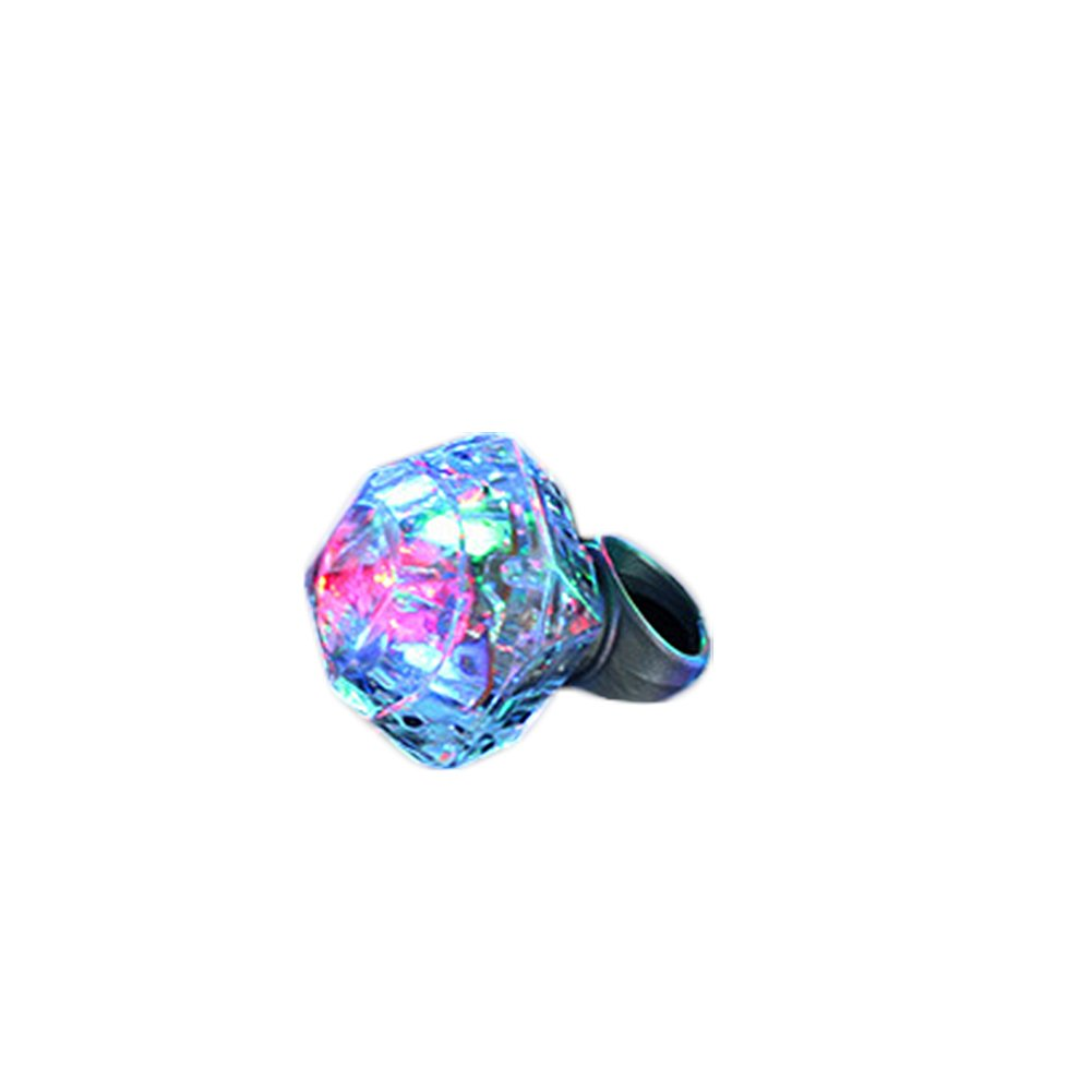 Wicemoon Anillo de mujer elegante LED brillante anillo de diamante de moda brillante diamante anillo de boda para mujer niña regalo de cumpleaños