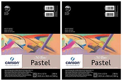 Mi Teintes Pad - 2-Pack - Mi-Teintes Pastel Pad, Assorted Colors 9