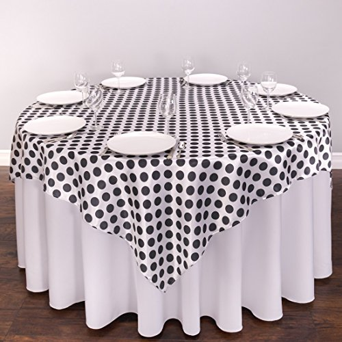 72 Hemmed Polyester Tablecloth - 4