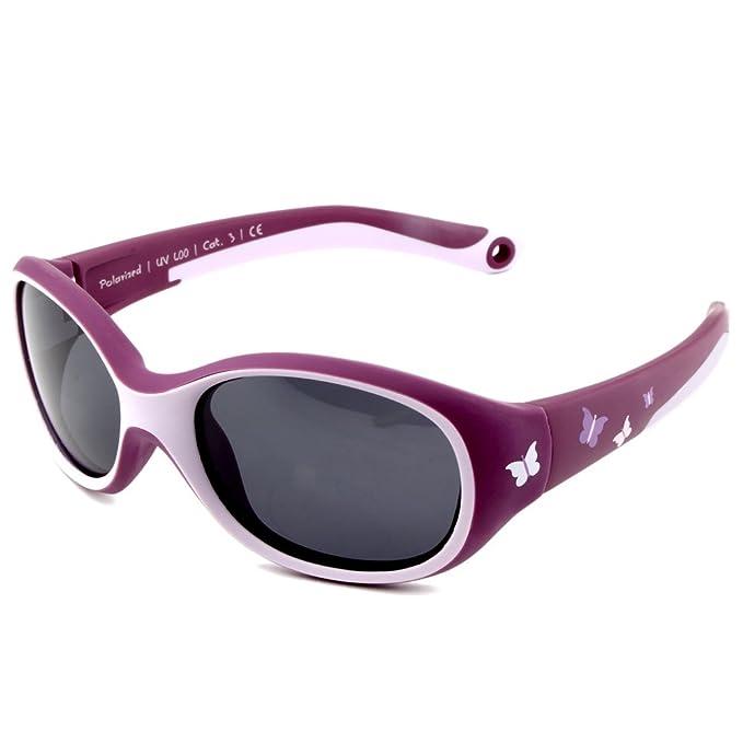 ActiveSol gafas de sol | NIÑA | 100% protección UV 400 | polarizadas | irrompibles, de goma flexible | 2-6 años | 22 gramos | REGALO DE NAVIDAD