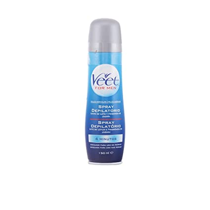 Veet men spray depilatorio corporal piel normal 150 ml ...