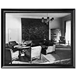 Black Wood Framed Print 8x10: Furnishings And Gobelin Tapestry In The Salon, Reichs...