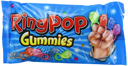 Bazooka Ring Pop Gummies Pouch, 1.70 Ounce (Pack of 16) by Bazooka