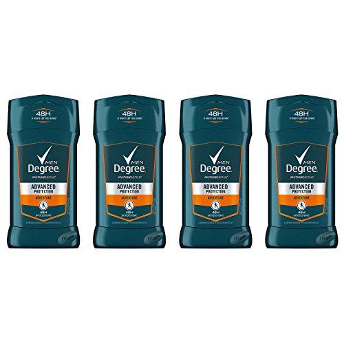 Degree Men Advanced Protection Antiperspirant Deodorant, Adventure 2.7 oz, 4 count