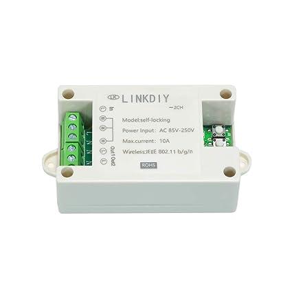 OWSOO eWeLink Smart WiFi Switch Universal Module 2CH AC85