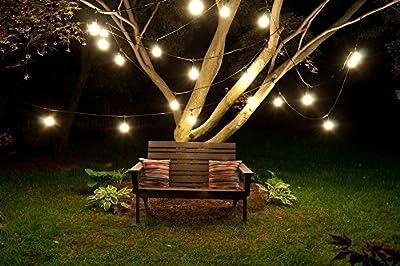 Bulbrite STRING15/E26 Outdoor String Light