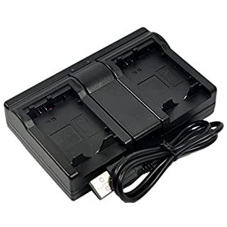 LP-E12 Battery Charger DC USB Dual for Canon LC-E12 LCE12 LPE12 EOS M M2 M10 M50 M100 Rebel SL1 100D Kiss X7 Camera