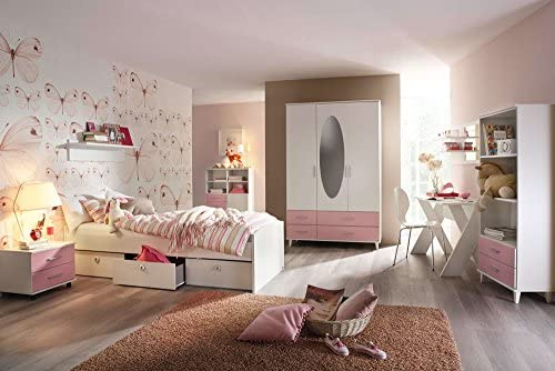 Lifestyle4living Jugendzimmer Kinderzimmer Komplett Set