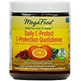 MegaFood - Daily C-Protect Nutrient Booster Powder, Helps Prevent Vitamin C Deficiency, 63.9 g