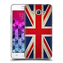 Head Case Designs Great Britain British Vintage Flags Soft Gel Case for Samsung Galaxy Grand Prime